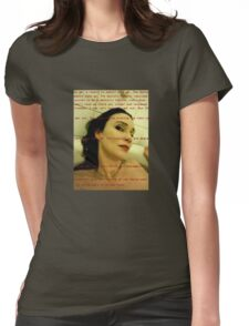 Bath Quotes 9 Womens Fitted T-Shirt