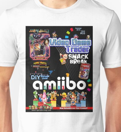 Video Game Trader #33 Cover Design  Unisex T-Shirt