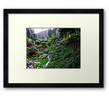 Sunken Garden No.1 Framed Print