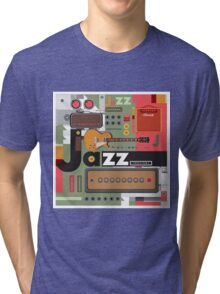 I love jazz 2 Tri-blend T-Shirt