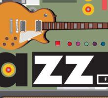 I love jazz 2 Sticker