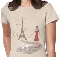 Parisian chic Womens Fitted T-Shirt