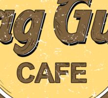 Skag Gully Cafe Sticker