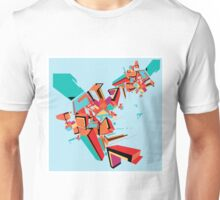 Abstract Art geometrical colors Unisex T-Shirt
