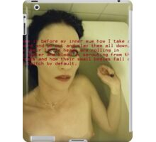 Bath Quotes 11 iPad Case/Skin