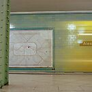 U-Bahnhof Alexanderplatz II by Richard McKenzie