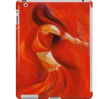 dancing flame iPad Case/Skin