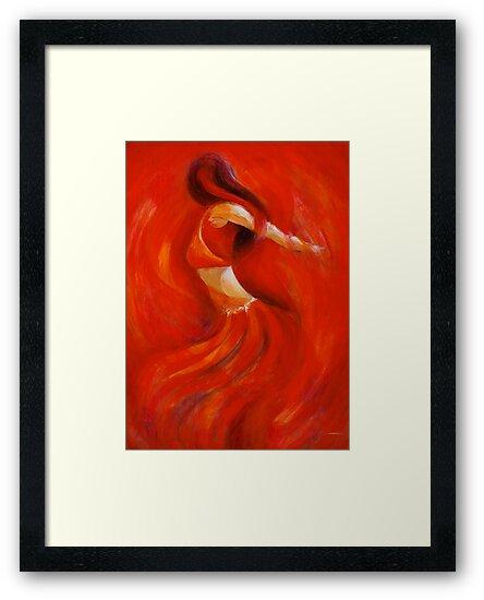 dancing flame by gerardo segismundo