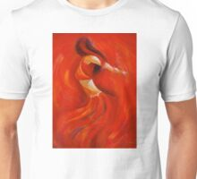 dancing flame Unisex T-Shirt