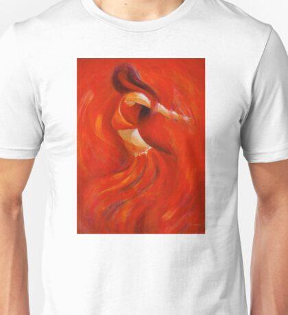 dancing flame Unisex T-Shirt
