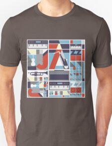 I love jazz 3 Unisex T-Shirt