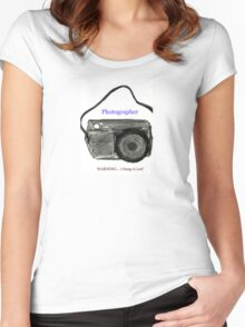 Photography Fun Women's Fitted Scoop T-Shirt