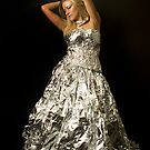 foil dress by Vilma Bechelli
