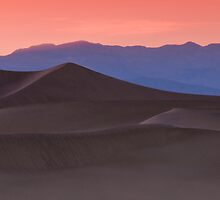 Sunset at Mesquite Dunes Panoramic by MattGranz