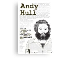 Manchester Orchestra - Andy Hull Canvas Print
