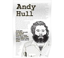 Manchester Orchestra - Andy Hull Poster