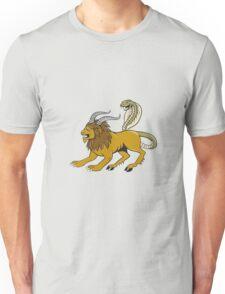 Chimera Attacking Side Cartoon Unisex T-Shirt