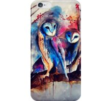 Barn Owls iPhone Case/Skin
