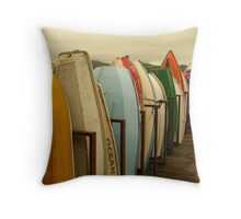 Ocean Maid Landscape Throw Pillow