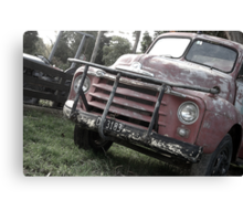 You Old Trucker Canvas Print