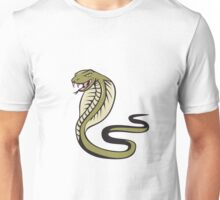 Cobra Viper Snake Attacking Cartoon Unisex T-Shirt