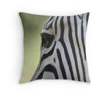 Zebra's eye Throw Pillow