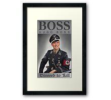 Hugo Boss Dressed to Kill Framed Print