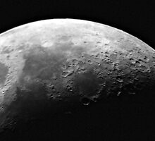 Craters on the Moon, Space by groophics