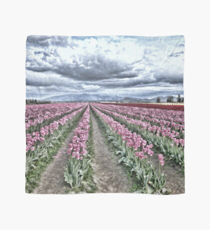 AS FAR AS YOU CAN SEE TULIP SCARF Scarf