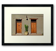 Neighbors Framed Print