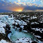 Sunset at Kolufossar by Roddy Atkinson