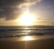 First sunrise of 2008 by Matt Langton