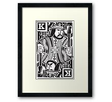 King Of blues Framed Print