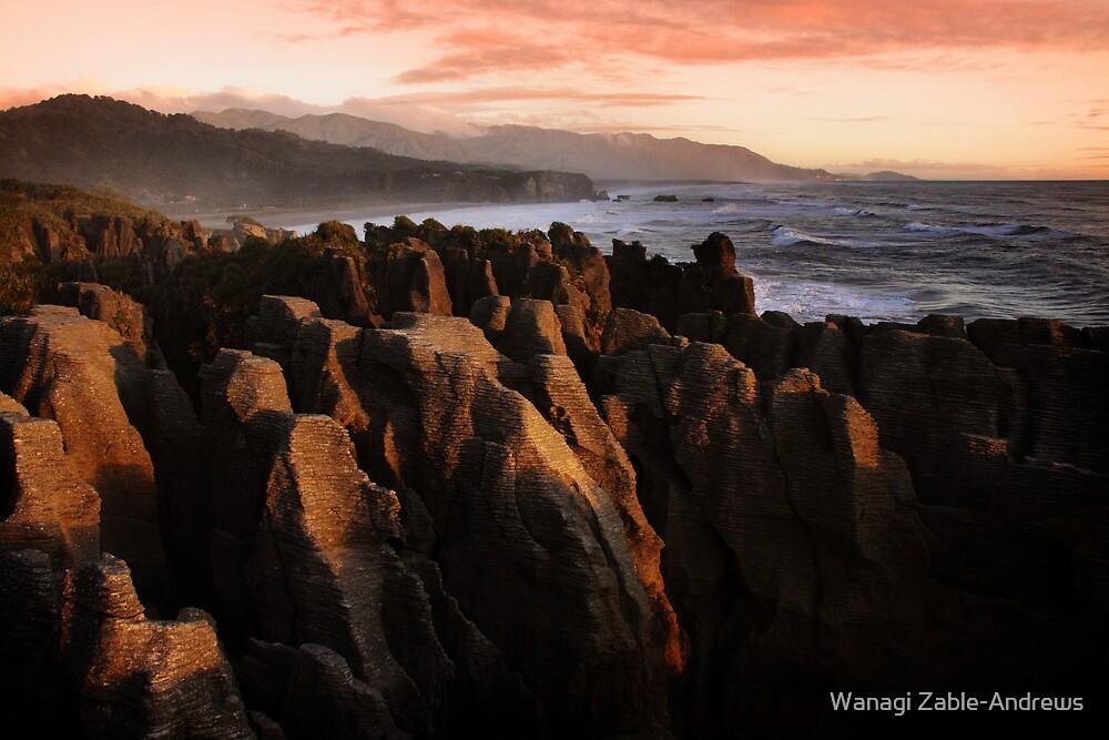 Pancake Rocks by Wanagi Zable-Andrews