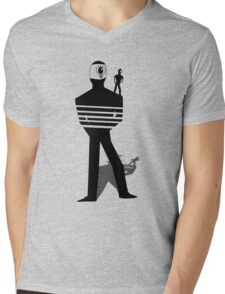 Cyclopes Mens V-Neck T-Shirt