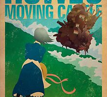 Howl's Moving Castle by James Bacon