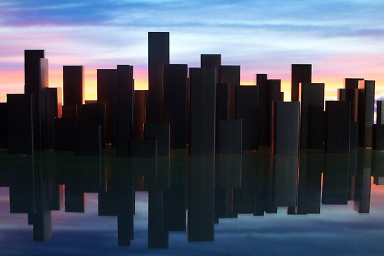 Staple City by Martyn Robertshaw