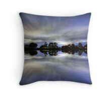 Nudgee Beach. Brisbane, Australia. Throw Pillow