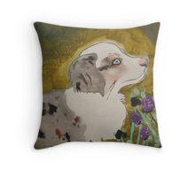 Australian Shepherd Throw Pillow