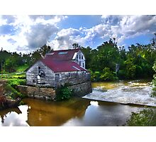 """Old Green Mill,  At Falls Of The Rough, Kentucky"" Photographic Print"