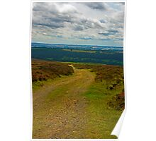 Moorland Track Poster