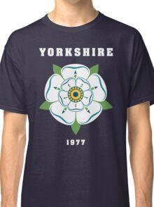 Yorkshire White Rose 1977 Classic T-Shirt