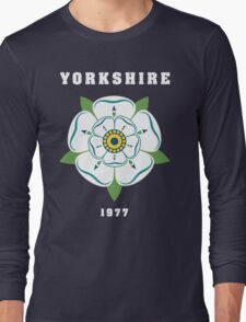 Yorkshire White Rose 1977 Long Sleeve T-Shirt
