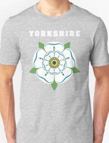 Yorkshire White Rose T-Shirt