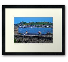 Conwy Harbour - North Wales Framed Print