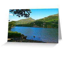 Lake-North Wales Greeting Card
