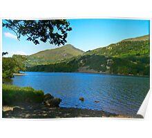 Lake-North Wales Poster