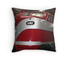 GM2  Diesel Engine...Port Adelaide Train Museum Throw Pillow