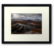 From Loughsalt Mountain Framed Print