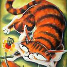 JAC Cat Eyes a Butterfly by etourist